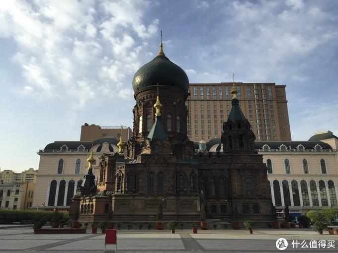 哈尔滨索菲亚教堂(创作素材)
