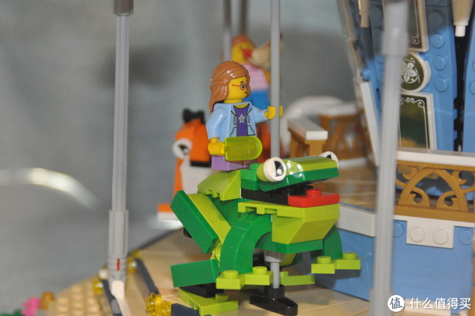 LEGO 10257旋转木马配合Wedo2.0模拟10196