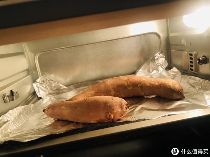 闻着就想吃的烤红薯