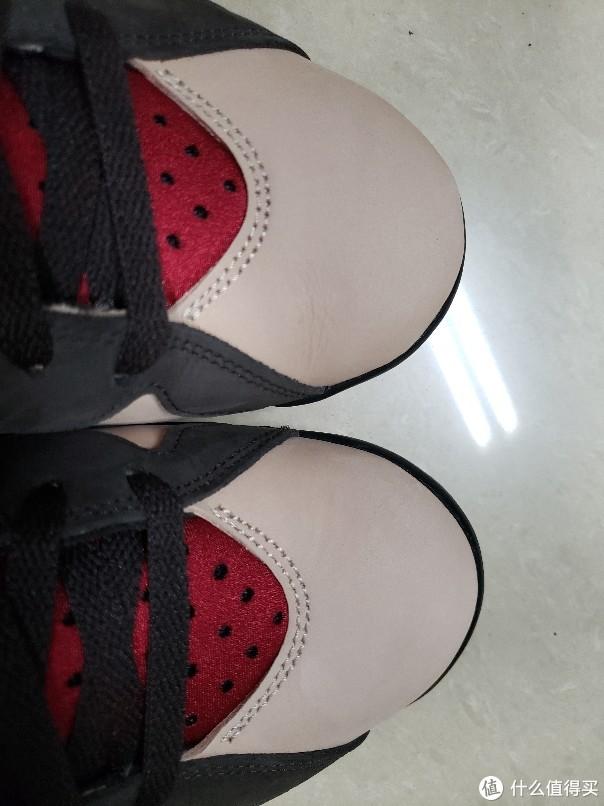 穿了两次的鞋头