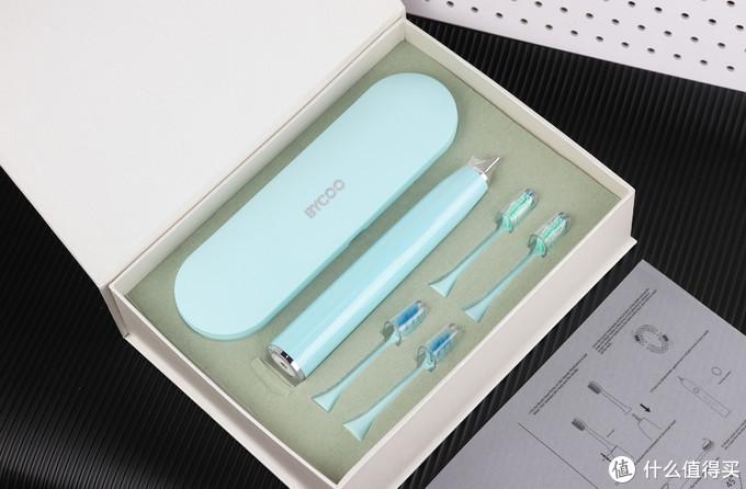 平民轻奢时尚实用型,BYCOO H9黑科技电动牙刷体验