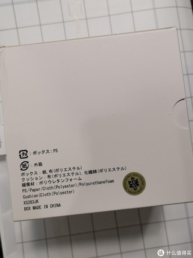 背面,盒子中国产