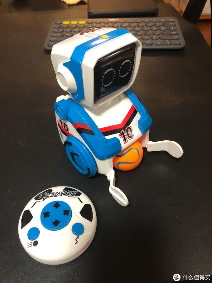 银辉足球机器人玩具简评和遥控通道修改