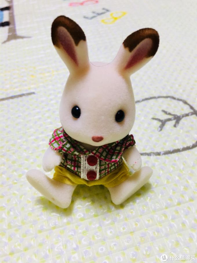一家人就要整整齐齐 森贝儿巧克力兔家族
