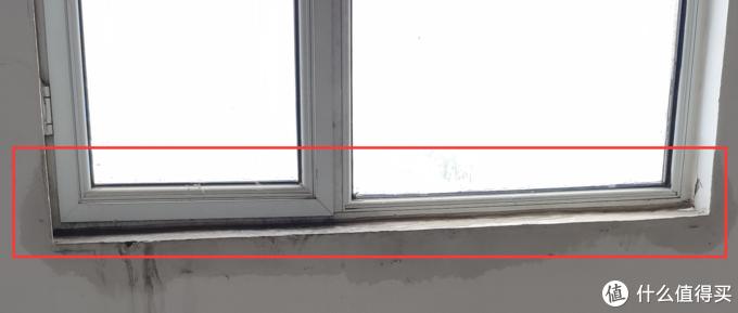 二楼卧室的窗户一样的进水