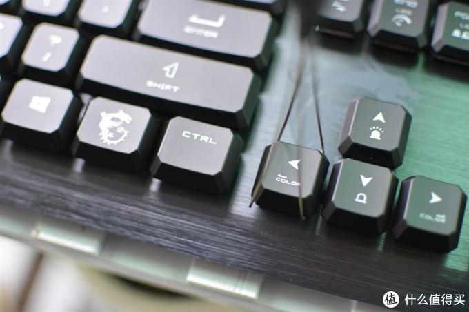 玩游戏想要手感、灯效、来这款微星GK50矮轴机械键盘尝尝鲜