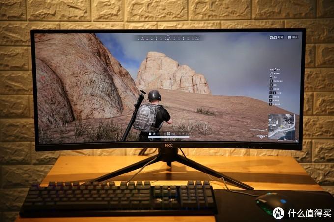 千元级曲面带鱼屏香不香?超宽视觉体验,HKC C299Q显示器上手