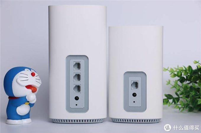 大户型路由器选择之全屋覆盖安全无忧,2500M双频360全屋路由MESH分布式子母路由器试用