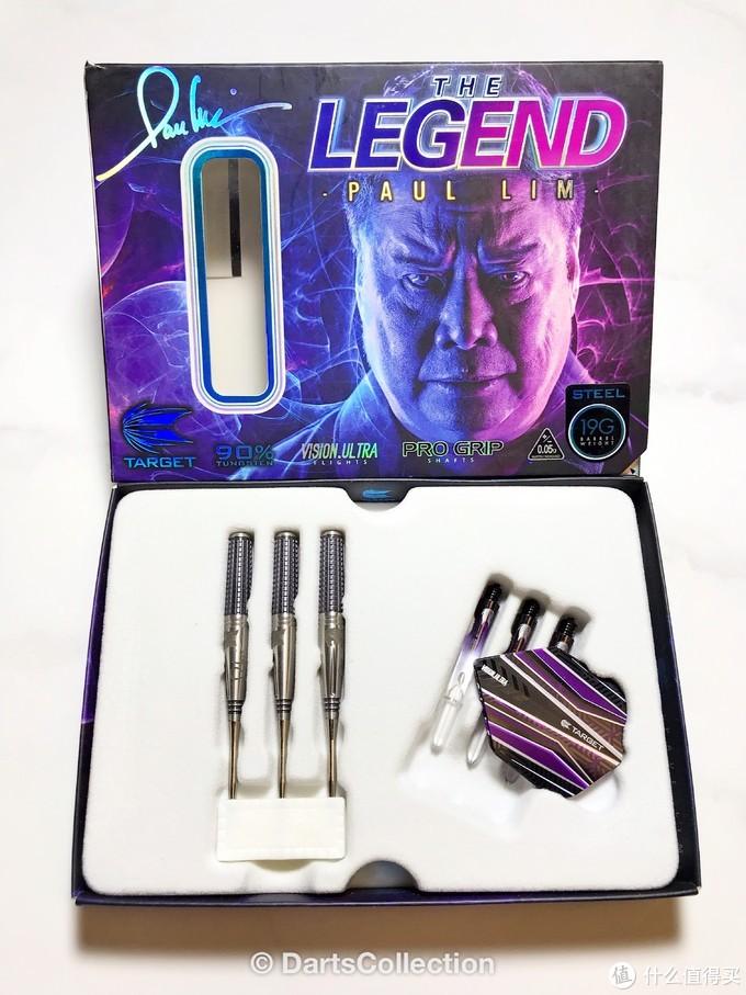 飞镖收藏开箱评测第十一期——Paul Lim The Legend Gen1 JPN