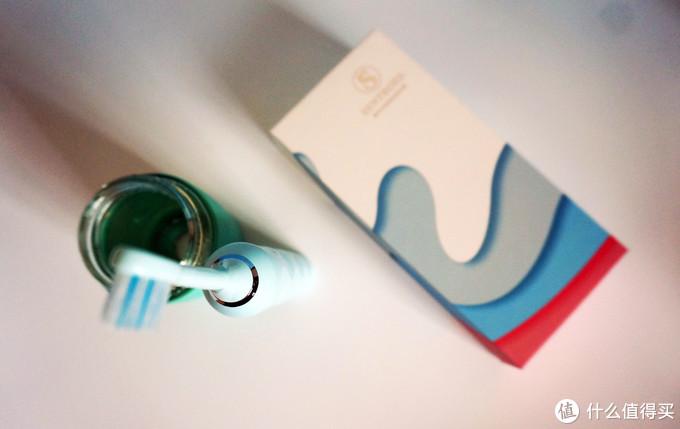 每分钟震动3200次,颜高活好护口腔,圣涛仙女声波电动牙刷体验。
