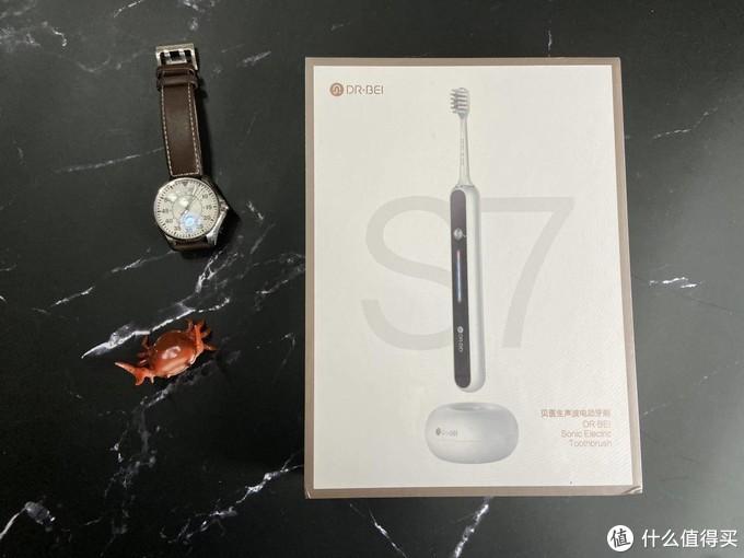贝医生S7声波电动牙刷,随身携带舒适刷牙