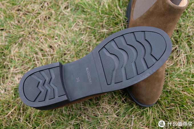 跟着大妈买,KANGNAI康奈反绒皮切尔西短靴 入手体验