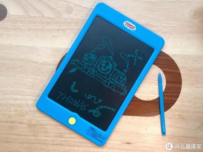 用托马斯透明液晶手写板玩拓印,OMG!太好画了吧!