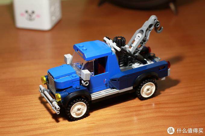 三号包会拼出这俩修理车,这个绝对是能单独拿出来卖的一个车