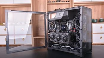 乔思伯JELLFISH水母360散热器评测体验(上机)