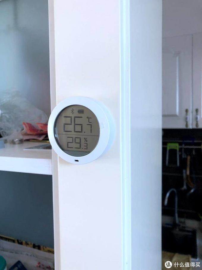小巧精准高颜值-小米 米家蓝牙温湿度计 开箱实测