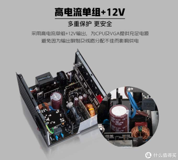 五年质保、最高金牌效率:Thermaltake 曜越 推出 BT、GT系列全模组电源 359元起