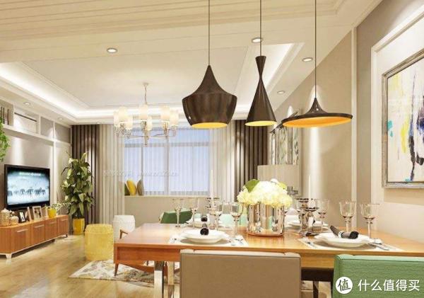 关于餐厅吊灯正确安装步骤及注意事项,看完秒懂!