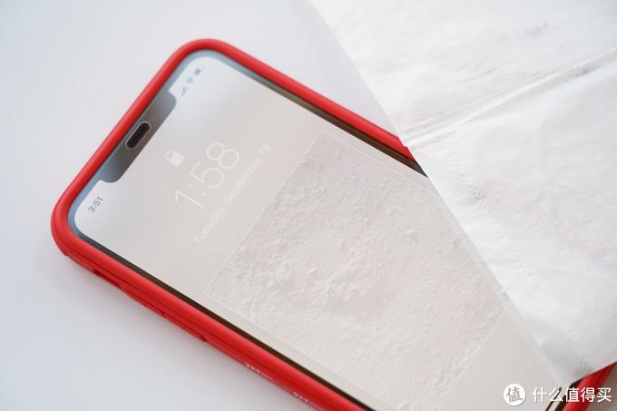 无需贴膜,一体双面:cike 小红壳 Partron iPhone11防摔壳