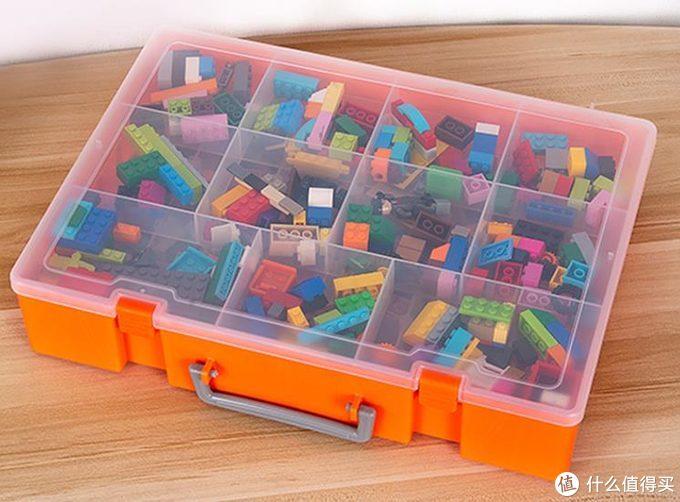 积木老亮的积木零件收纳方案
