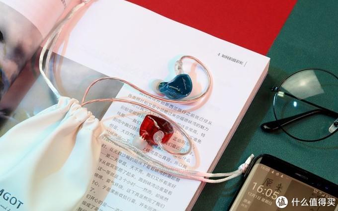 漂亮的红蓝CP,美貌高于音质:兴戈MT1耳机体验