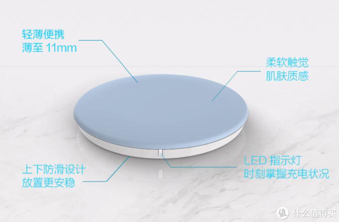 食用级硅胶材质+异物侦测:ASUS 华硕 15W Qi无线充电器 W1G 上架开售