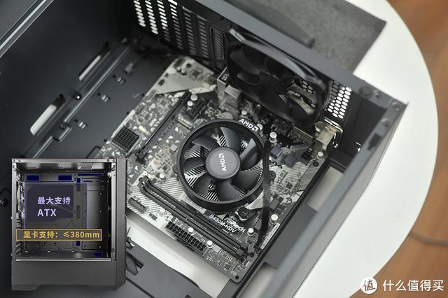 酷炫但不张扬,自带ARGB控制器,平价安钛克DP501侧透机箱体验