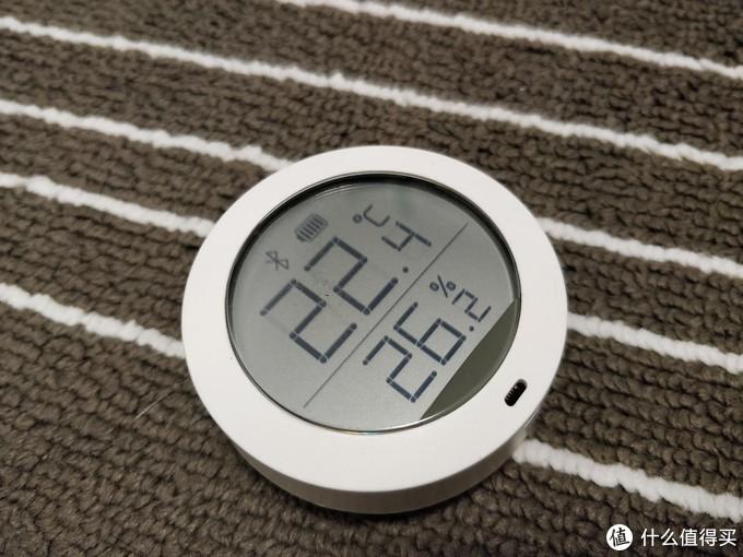 小爱同学万能遥控版+米家蓝牙温湿度传感器