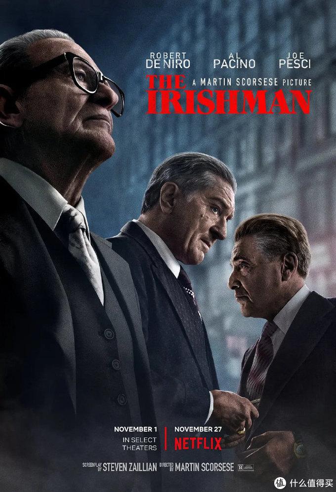美国电影学会2019年度十佳电影和十佳剧集出炉,《爱尔兰人》《小丑》《好莱坞往事》入选,明年奥斯卡风向标走起!