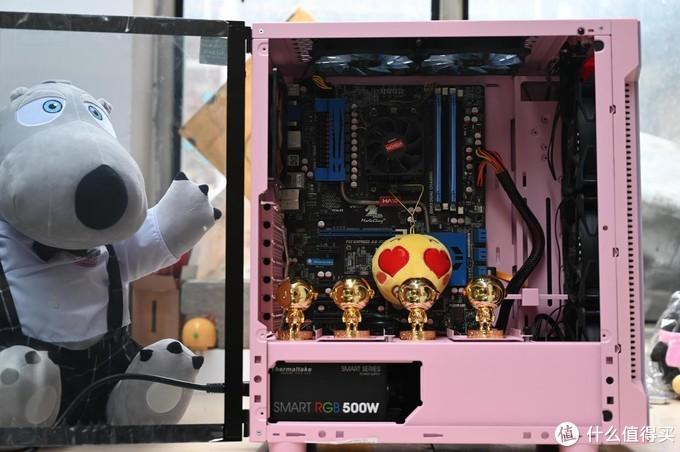 暖心的侧透粉嫩机箱,Tt机箱H2粉色款体验