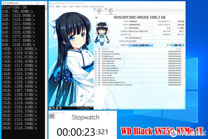 惊掉下巴!SSD跑不过机械盘?WD_Black SN750 NVMe鲁大师记实