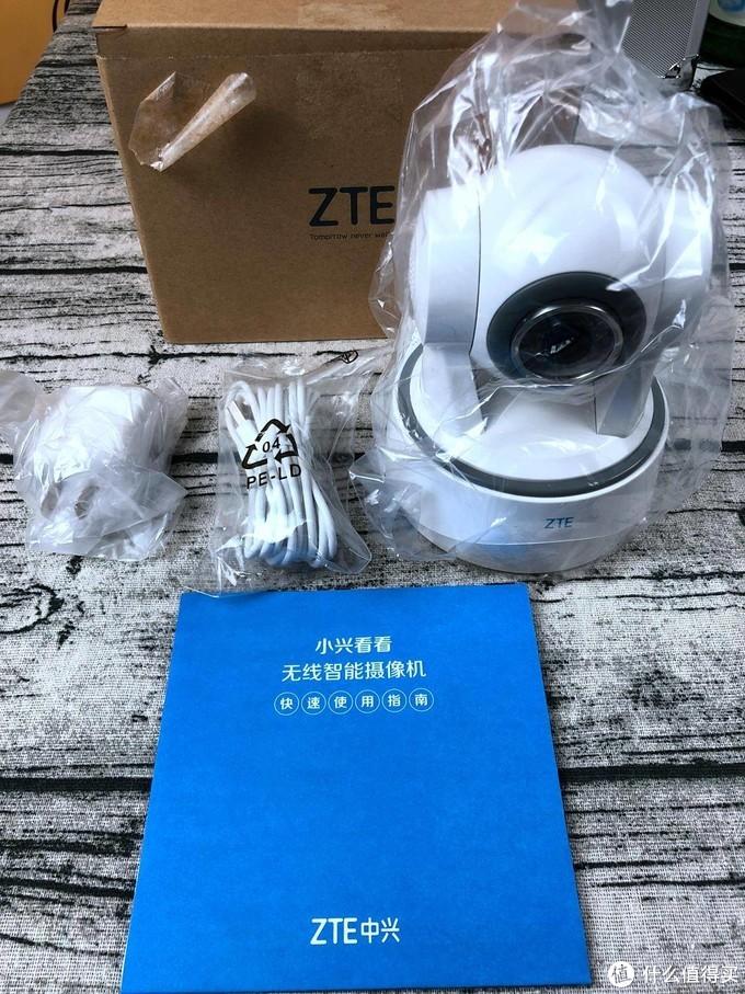 ZTE 中兴 小兴看看Memo 360°全景智能监控摄像头 使用总结