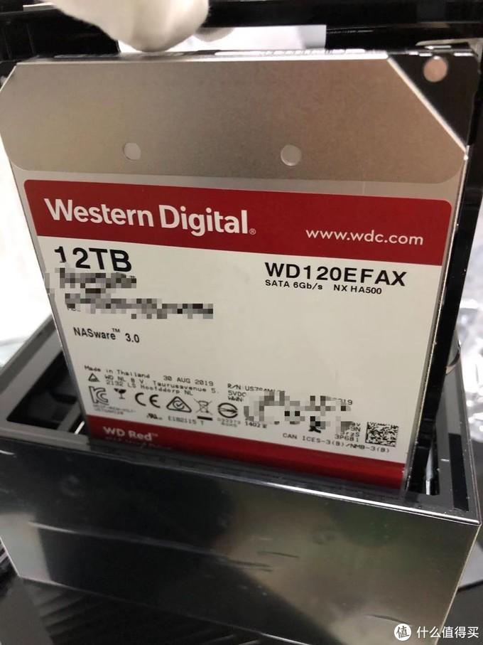 拔出来~WD120EFAX红盘! HA500系列,真香~
