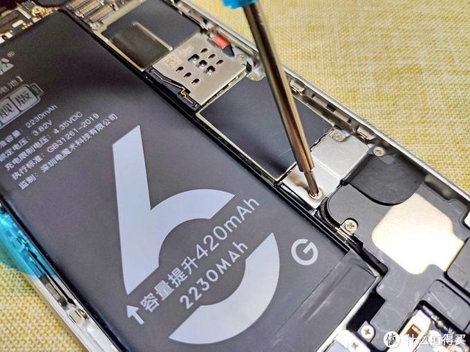 用马拉松电池当餐,唤醒沉睡中的iPhone6,iPhone6电池更换记