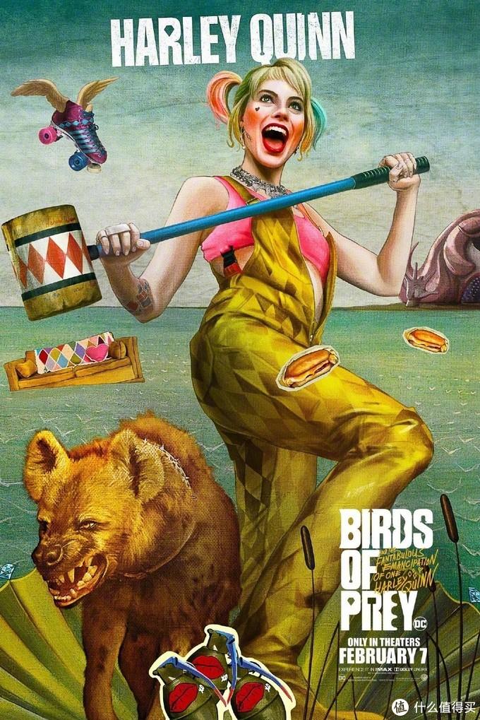 DC新作《猛禽小队》发布7款角色预告,小丑女奔放可爱,姐