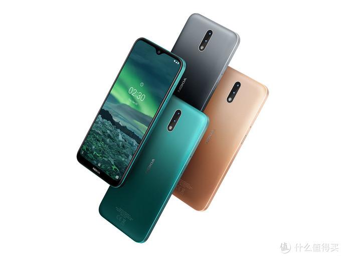 水滴屏的入门新机:NOKIA 诺基亚 正式发布 2.3智能手机