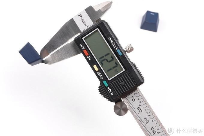 键帽厚度测量