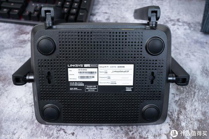 电竞路由器也能玩Mesh,Linksys MR9000X路由器组Mesh体验