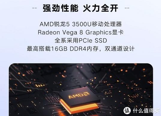 ▲ Ryzen3000配备双通道内存,Vega显卡效能才能火力全开。