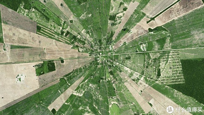 玻利维亚被开垦为农田的雨林