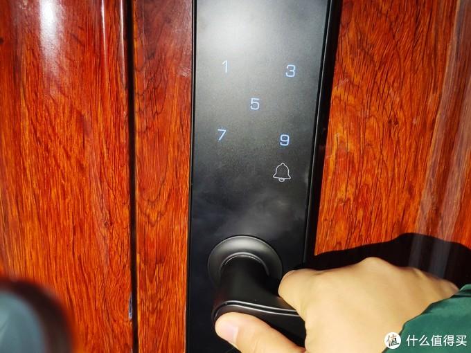 小益智能门锁E206T天猫精灵版,智能升级,安全加倍