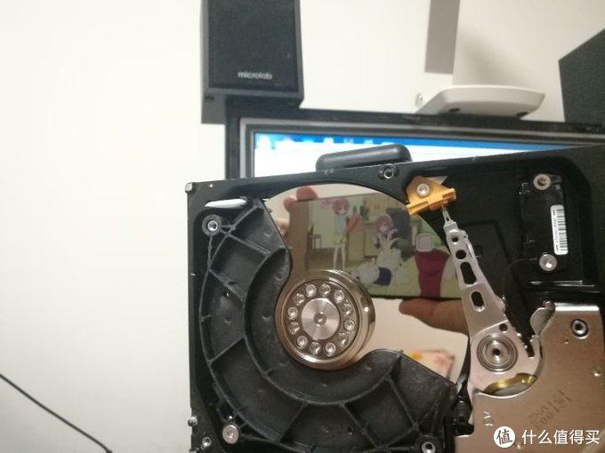 自制硬盘化妆镜——硬盘坏了不要扔,拆了当镜子照,隔壁……