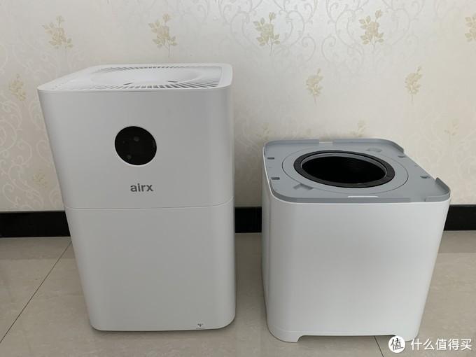 airx A9H加湿净化一体机体验报告