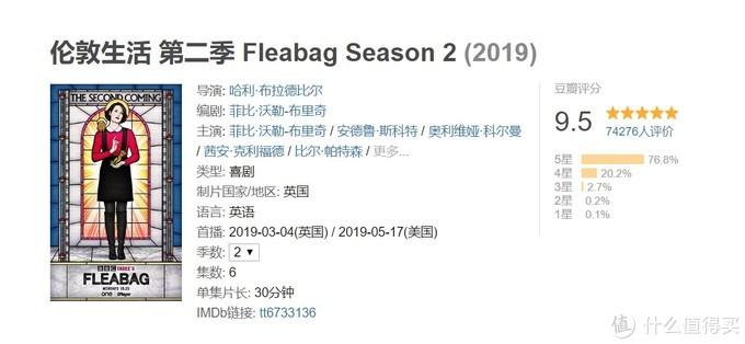 2019新上高分外剧(美剧)清单