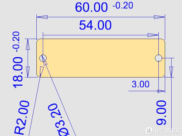 wifi天线的盖板设计图