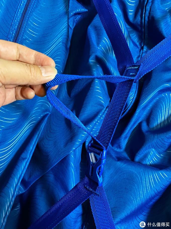 绑带不再是带弹性的松紧带,而是尼龙带加上可调整的扣子