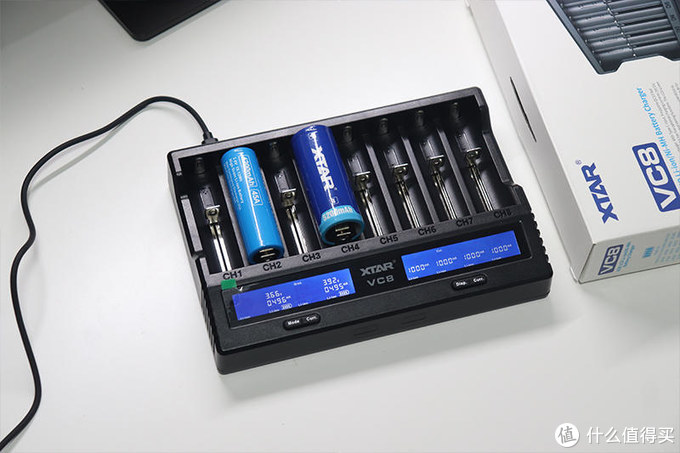 8槽快充,向虚标容量、老化劣质电池说No!XTAR VC8充电器体验
