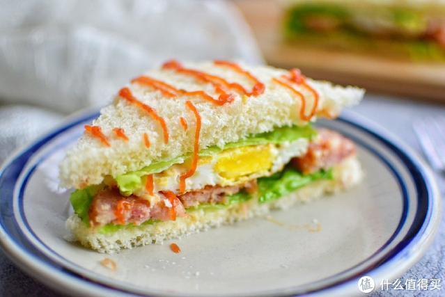 三明治的做法好简单,在家轻松做,想加啥菜加啥菜,早餐最爱吃它