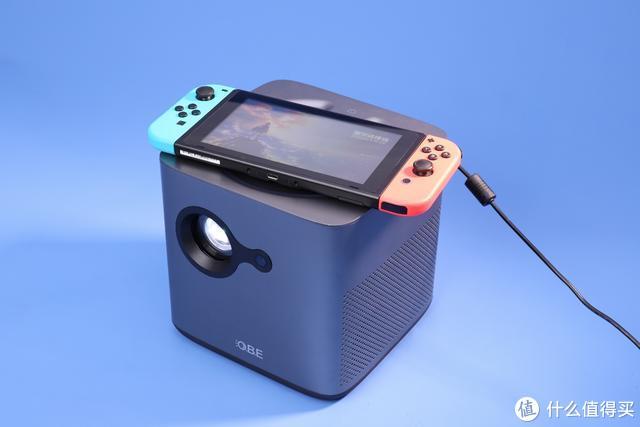 大眼橙X7M/D智能投影仪搭配Switch,放大视野放大快乐
