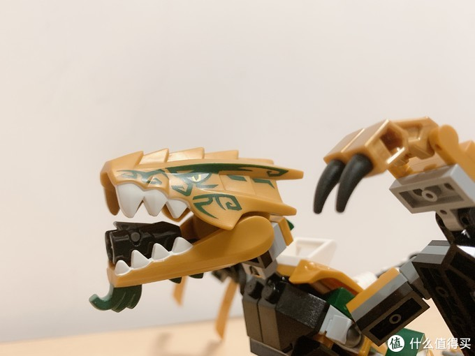 乐高70666开箱拼搭: 幻影忍者黄金飞龙,摆造型超威猛